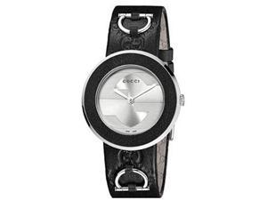 Gucci U-Play Silver-Tone Dial Women's Watch #YA129409