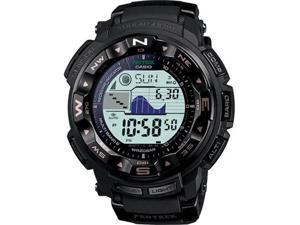 Casio PRW2500-1 Black Multi-Band 6 Atomic Triple Sensor Solar Pathfinder ProTrek Digital