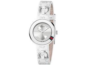Gucci U-Play Silver-Tone Dial Women's Watch #YA129509