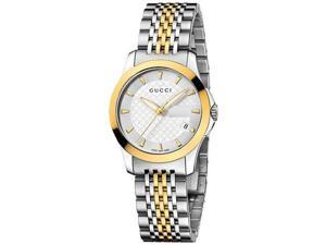 Gucci Swiss G-Timeless Stainless Steel Bracelet Ladies Watch YA126511