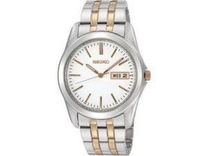 Seiko SGGA45 Stainless Steel Dress White Dial
