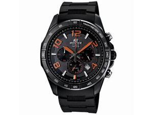 Casio EFR516PB-1A4 Black Stainless Steel Edifice Chronograph Black Dial Black Rubber Strap