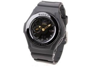 Casio BGA141-1B Baby-G Digital-Analog Black Dial Alarm Shock Resistant