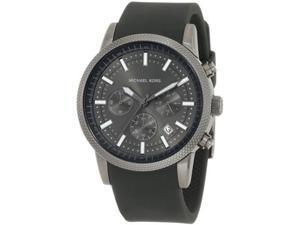 Michael Kors MK8241 Black Silicone Strap Quartz Chronograph