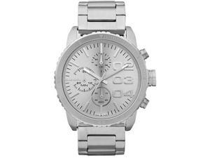 Diesel DZ5301 Stainless Steel Case and Bracelet Chronograph Silver Dial