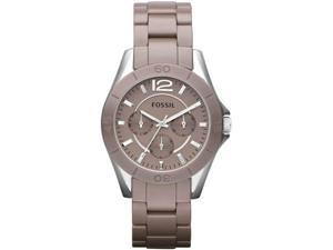 Fossil CE1065 Ceramic Case and Bracelet Crystals Quartz Chronograph