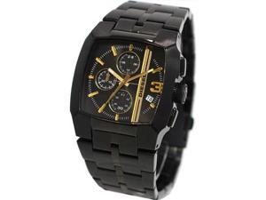 Diesel DZ4259 Black Stainless Steel Case and Bracelet Black Dial Chronograph