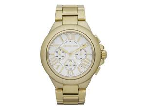 Michael Kors MK5635 Gold Tone Stainless Steel Quartz Chronograph Date Display Silver Dial