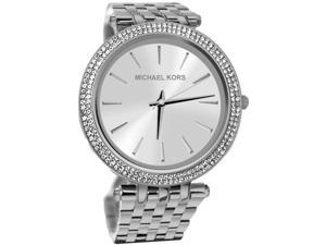 Michael Kors MK3190 Stainless Steel Case and Bracelet Silver Tone Dial Quartz