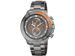 Citizen CA0520-53H Eco-Drive Diver Chronograph Titanium Case and Bracelet Gray Tone Dial