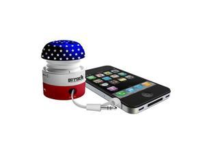 Go-Rock American Mini Portable Speakers with Built-in Rechargeable Lithium Battery