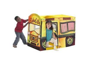 Playhut Lil Explorers School Bus Multiple Play Tent