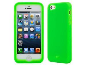 GTMax Green Silicone Case for Apple® iPhone® 5, 6th Generation iPhone, The 2012 New iPhone( AT&T, CDMA / Global Verizon, ...