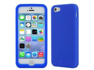 GTMax Dark Blue Silicone Case for Apple® iPhone® 5S, iPhone 5 ( AT&T, CDMA / Global Verizon, Sprint )