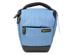 Evecase DSLR Camera Holster Case/Bag - Blue for Canon Nikon Sony Panasonic FujiFilm Olympus DSLR Cameras