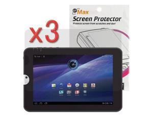 GTMax Clear LCD Screen Protector Film Guard – 3 Pack for Toshiba Thrive 10.1-Inch Android Tablet