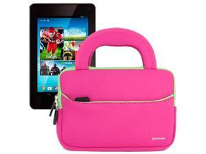 Evecase Hot Pink Ultraportable Handle Carrying Portfolio Case Bag for Hisense Sero 7 Pro 8GB M470BSA / Sero 7 LT E270BSA ...