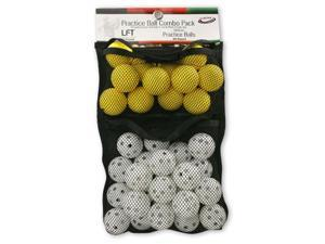 Practice Golf Ball Combo Pack LFT & Whiffle 24 ct