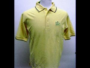 Devon Jones Short Sleeve w/ HG Logo Dri-Fast Golf Shirt Butter/N