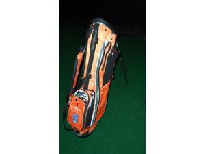 Taylormade Taylite Orange Golf Bag With Michelob Ultra Promo Pat