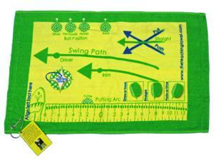 The Teaching Towel Training Aid Learn Golf Improve NEW