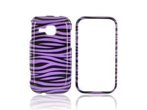 Purple Black Zebra Hard Case For Samsung Galaxy InduLGe