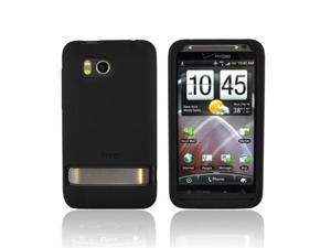 Black OEM Silicone Case Cover For HTC Thunderbolt