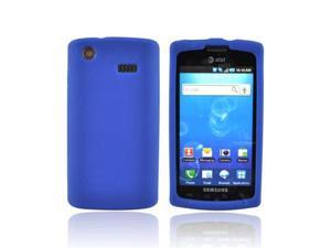 For Samsung Captivate Silicone Case Skin Cover Blue