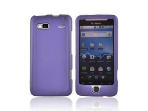 For T-mobile G2 Rubberized Hard Case Cover Purple