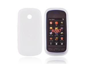For Samsung Eternity 2 Silicone Case Cover Frost White