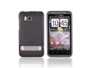 Gray Black OEM Rubberized Hard Plastic Case Cover, 70H00373-07M For HTC Thunderbolt
