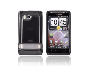 Dark Smoke OEM Crystal Silicone Skin Case Cover, 70H00374-03M For HTC Thunderbolt