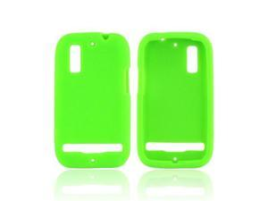 Lime Green Flexible Rubber Case Case Cover For Motorola Photon 4g