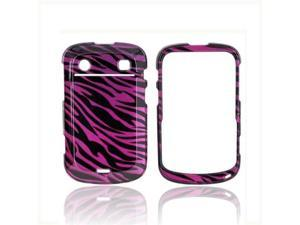 Purple Black Zebra Plastic Snap On For Blackberry Bold 9900 9900, 9930