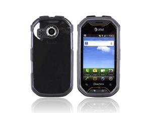Smoke Plastic Snap On Case Cover For Pantech Crossover P8000
