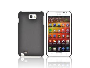 Black OEM Incipio Feather Ultra Thin Hard Rubberized Case, SA-248 For SAmsung Galaxy Note