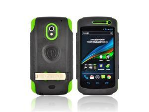Green Black OEM Trident Kraken AMS Hard Silicone Case W Screen Protector Kickstand clip, AMS-GLNX-TG For SAMSung Galaxy Nexus