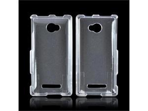 HTC 8x Plastic Cover - Transparent Clear