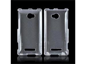 HTC 8x Plastic Cover - Transparent Clear