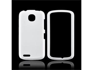 Pantech Marauder Rubberized Plastic Cover - White