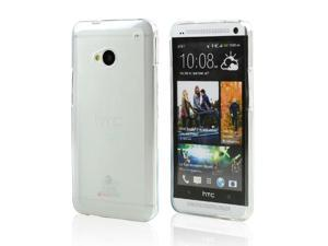 Clear/ Frosted CellTo Matte Crystal Silicone Skin Case for HTC One