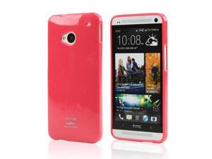 Hot Pink CellTo Crystal Silicone Skin Case for HTC One