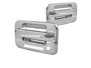 Spyder Auto Ford F150 04-08 2Dr Chrome Door Handle No PSKH w/Keypad