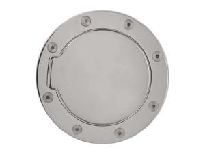 Bully Chrome Gas Door 02-08 Dodge Ram Fuel Filler Door Cover Chrome Plated Finish Billet Aluminum GD-302C