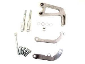 TSP SBC ALUMINUM POWER STEERING BRACKET KIT, POLISHED JM9105P