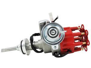 TSP Ready to Run Distributor-CHRYSLER/DODGE MOPAR 318 340 360 SB V8 RED JM6713R