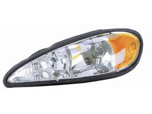 Eagle Eyes 99-05 PONTIAC GRAND AM HEADLIGHT P/L#: GM2502196 OE#: 22672207 Driver Side GM229-B001L