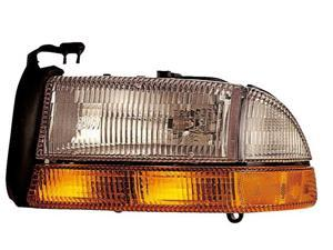 Eagle Eyes 98-04 DODGE DAKOTA / DURANGO HEADLIGHT P/L#: CH2502122 OE#: 55055111AG/AH Driver Side CS056-B101L