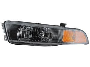 Eagle Eyes 02-03 MITSUBISHI GALANT HEADLIGHT P/L#: MI2502122 OE#: 02-UP MR972843 Driver Side MB287-B101L