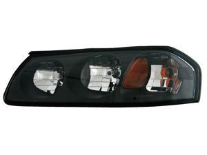 Eagle Eyes 2/06/04-05 CHEVROLET IMPALA HEADLIGHT P/L#: GM2502248 OE#: 10356097 Driver Side GM212-B101L